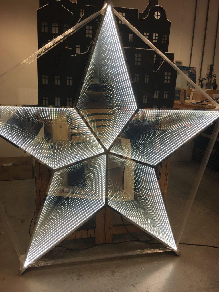 Star Infinity Mirror Pyrasied Xtreme Acrylic Acrylic